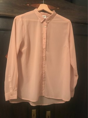 Rosé Farbene Chiffonbluse