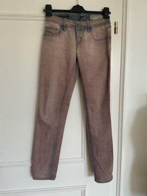 Diesel Industry Low Rise Jeans dusky pink