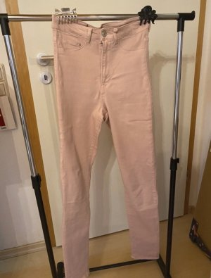 & DENIM High Waist Jeans pink
