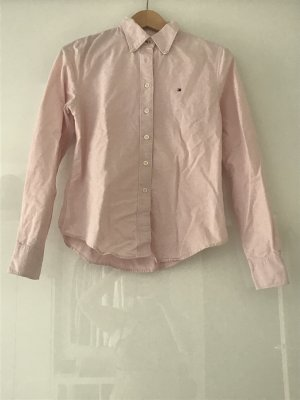 Rosé farbene Tommy Hilfiger Bluse