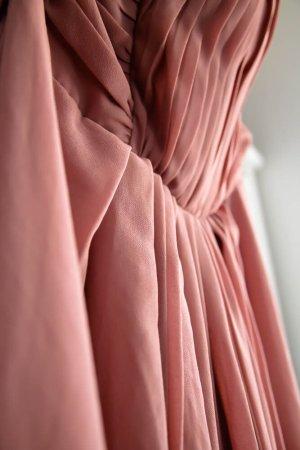 rosé farbenes Abend-/Abschlusskleid