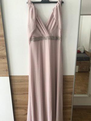 Rosé-farbenes Ballkleid