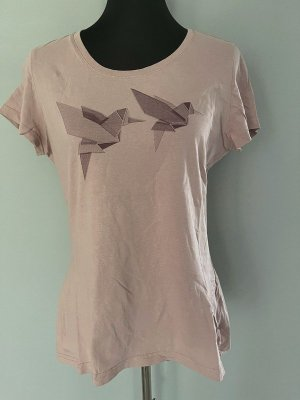 Rose farbenes T-Shirt von Mustang, Gr. L