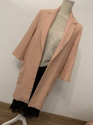 Zara Wool Coat pink