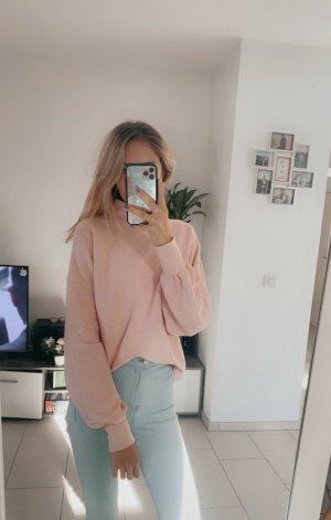 New Yorker Maglione oversize rosa chiaro