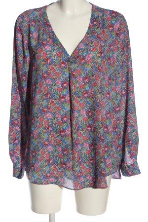 Rose + Olive Langarm-Bluse
