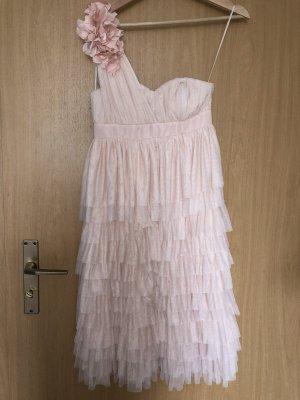Rose One Shoulder Kleid