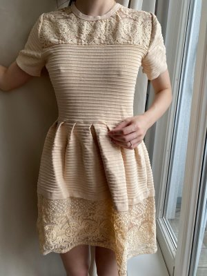 Sukienka typu babydoll jasny różowy