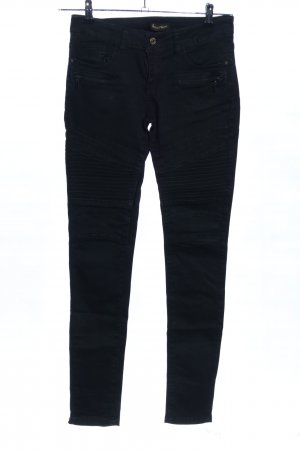 Rose Player Bikerjeans schwarz Casual-Look