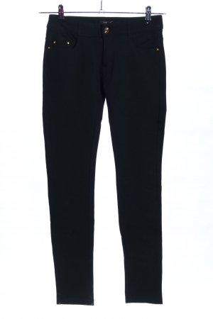 Rose Player Stretchhose schwarz Business-Look