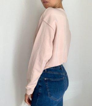 H&M Długi sweter różany-stary róż