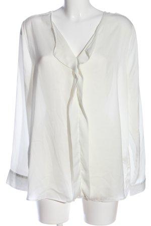 Rose & Rose Shirt met lange mouwen wit zakelijke stijl