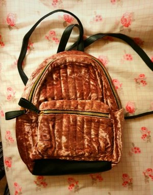 Primark Backpack Trolley rose-gold-coloured