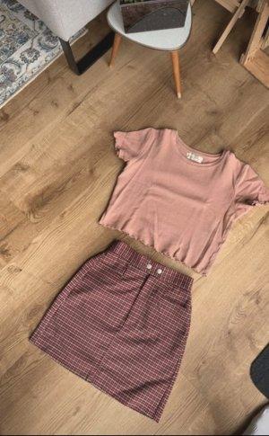 Rose Rüsschen Shirt