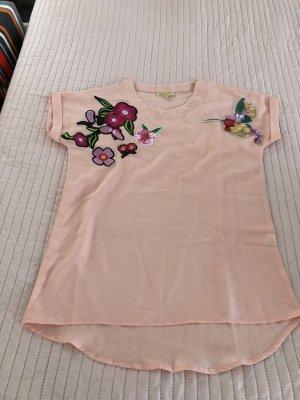Camicia oversize rosa pallido