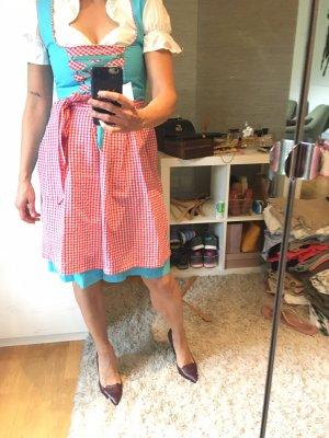 Rose Dirndl Corsage Dress multicolored