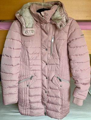 Rosé Wintermantel von Tom Tailor