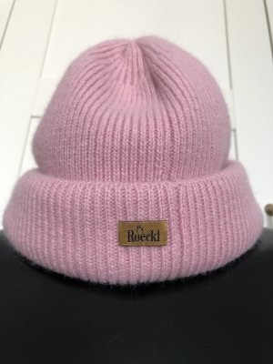 Roeckl Knitted Hat pink