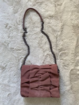 Rosé ZARA Crossbody-Bag & Statement Piece (neuwertig)