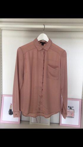 Rosefarbene Bluse