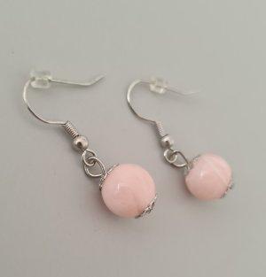 Dangle silver-colored-pink