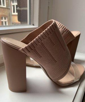 Roséfarbene Schuhe von ZARA