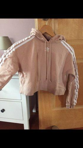 Rosefarbener Adidas Pullover in Gr. 30