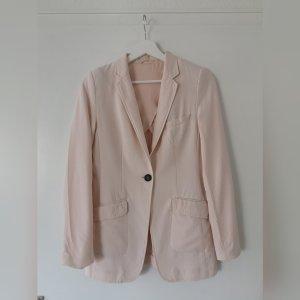 rosefarbener Long-Blazer von H&M