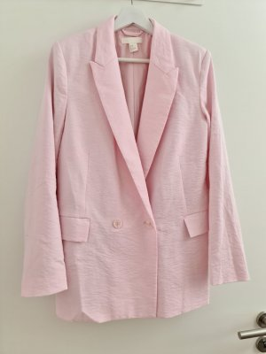 H&M Boyfriend Blazer light pink