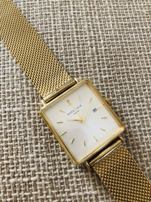 ROSEFIELD BOXY UHR GOLD