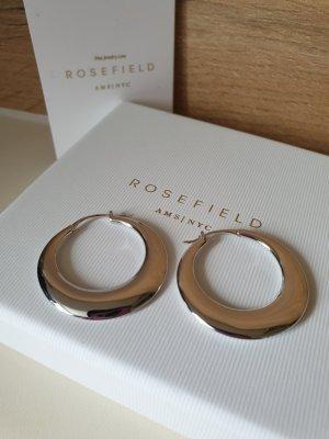 Rosefield Creole Iggy Bold Hoop, Silber