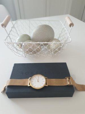 ROSEFIELD Horloge met metalen riempje goud