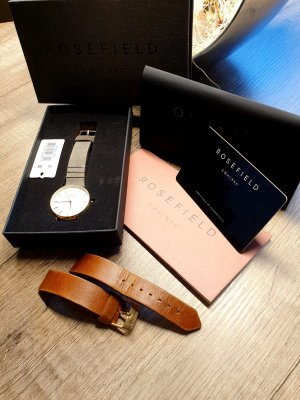 ROSEFIELD Watch With Leather Strap multicolored