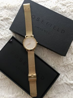 Rosefield Uhr The Mercer Weiß - Gold 38mm