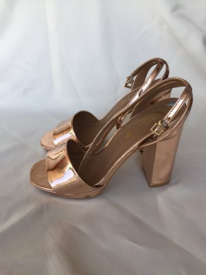 Rosegold high Heels Pumps  gr 39 Truffle Collection
