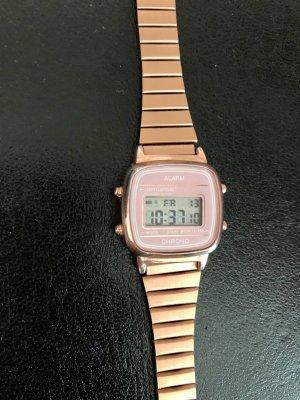 Roségoldene Digital-Uhr von H&M