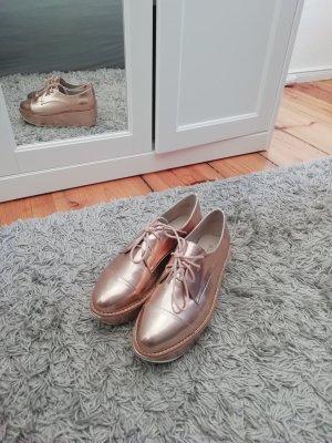 Aldo Zapatos Budapest color rosa dorado