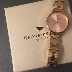 Roségoldene Uhr von Olivia Burton