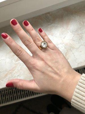 Jette Joop Zdobiony pierścionek w kolorze różowego złota
