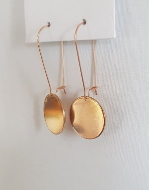 Hand made Dangle rose-gold-coloured