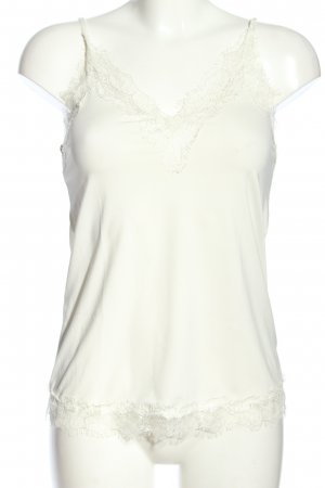 Rosemunde Camisole wit casual uitstraling