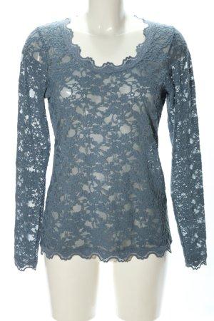 Rosemunde Longsleeve blau Casual-Look