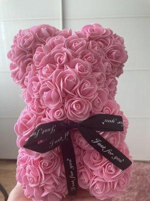 Brooch light pink-pink