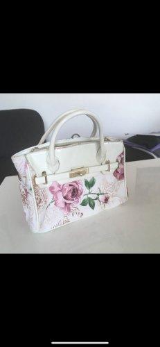 Rosengemusterte Damenhandtasche