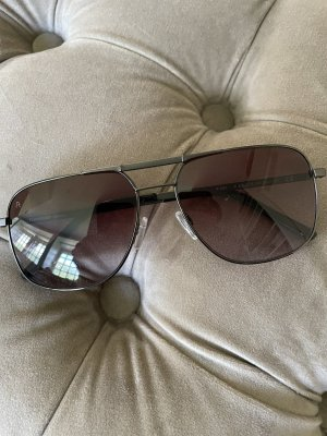 Rodenstock Gafas de sol cuadradas marrón grisáceo