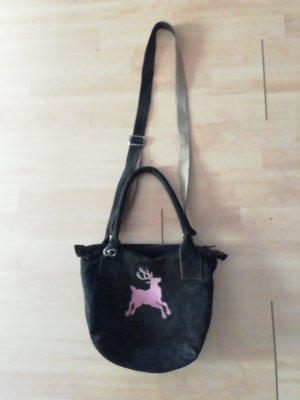 Rosi Bavaria Trachten Handtasche  /rosa Hirsch