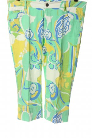 Rosner 3/4 Length Trousers allover print casual look