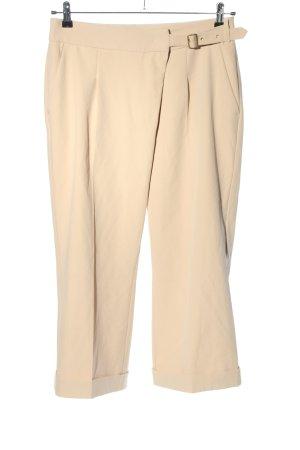 Rosner Pantalon 3/4 crème style décontracté