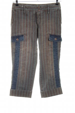 Rosner Jeans a 7/8 motivo a righe stile casual