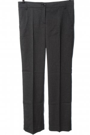 Rosner Suit Trouser black-white striped pattern casual look